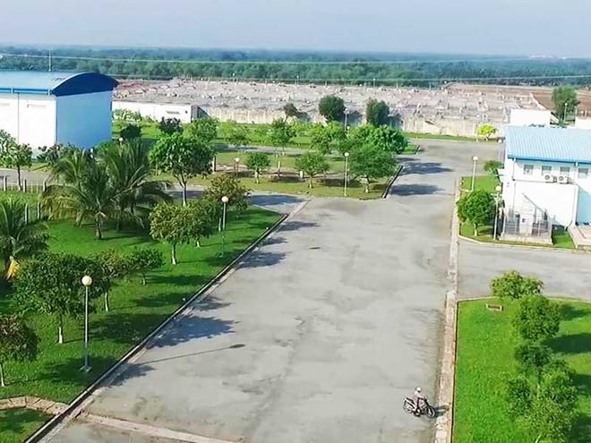 Nhà máy xử lý nước thải Bình Hưng