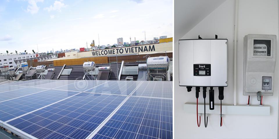 Nhiều biệt thự tại TP. Hồ Chí Minh đang chuyển sang sử dụng điện mặt trời